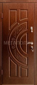 TIRAS DOOR Металические двери производства ПМР  Орех моренный