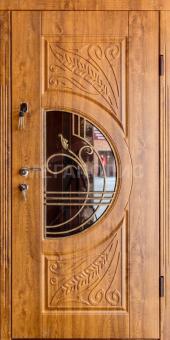 TIRAS DOOR Металические двери производства ПМР Д 16 Стескло