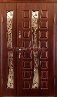 TIRAS DOOR Металические двери производства ПМР   Д-30 4 стекла