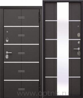 Входная дверь Феррони ЕВРОПА 9,5 см Белый ясень