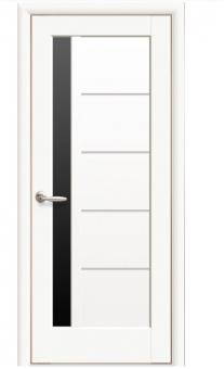 Остеклённая межкомнатная дверь Новый стиль Ностра Грета BLK