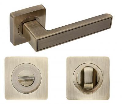 Комплект дверных ручек с поворотником Gavroche Lanthanum La-A1+A1-WC