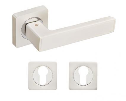 Комплект дверных ручек с накладками Gavroche Lanthanum La-A1+A1-EH