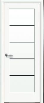 Остеклённая межкомнатная дверь Новый стиль Мира Полипропилен