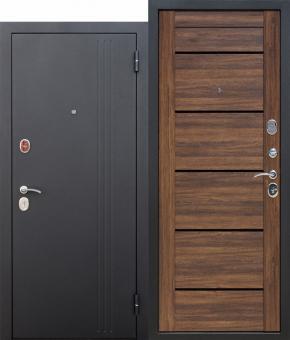 Входная бронированная дверь Ferroni Нью-Йорк Царга 7,5 см вставки стекло Лакобель