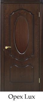 Межкомнатная дверь Омис Классика натуральный шпон Оливия ПГ