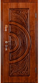 TIRAS DOOR Металические двери производства ПМР  D 16+ ПАТИНА