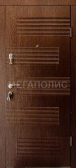 TIRAS DOOR Металические двери производства ПМР Полоска венге