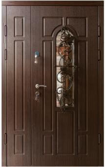 TIRAS DOOR Металические двери производства ПМР Ф- Дуб темный