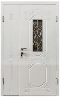 TIRAS DOOR Металические двери производства ПМР  П 13+ V Белый