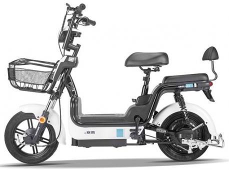 Электрический велосипед KX-5 (белый)