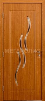 Межкомнатные двери Волна В (1 -17)  Светлый дуб