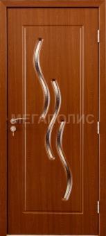 Межкомнатные двери Волна В (20-32)  Орех